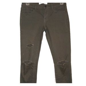 RSQ Green Skinny Jeans